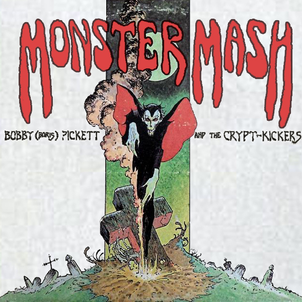 Original Cover Artwork of Boris Pickett Monster Mash