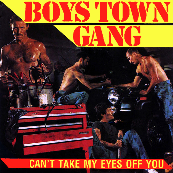 Original Cover Artwork of Boys Town Gang Eyes