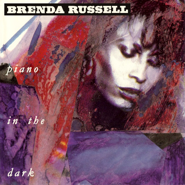Original Cover Artwork of Brenda Russell Piano In The Dark