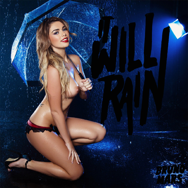 Cover Artwork Remix of Bruno Mars It Will Rain