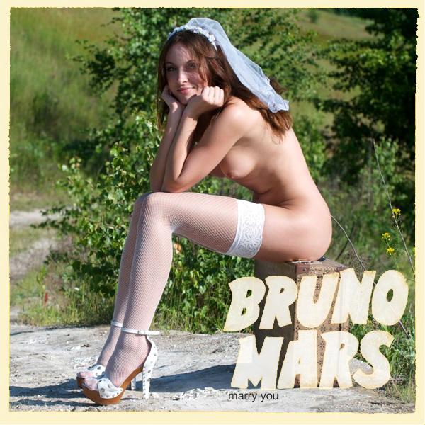 Cover Artwork Remix of Bruno Mars Marry You