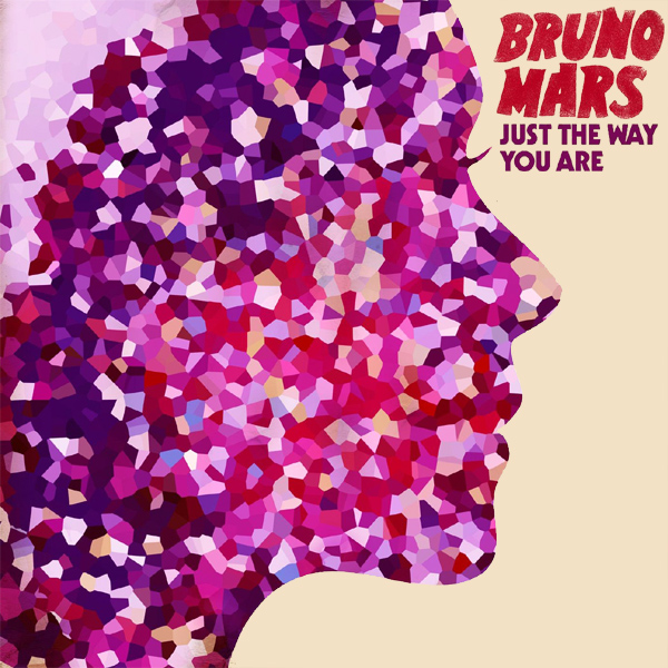 Original Cover Artwork of Bruno Mars The Way You Are