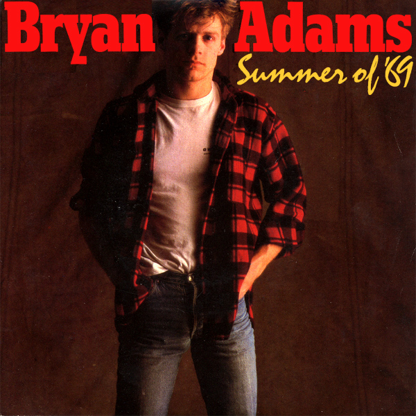Original Cover Artwork of Bryan Adams Summer Of 69