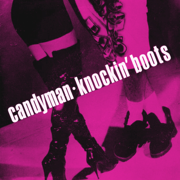 Original Cover Artwork of Candyman Knockin Boots