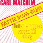 Original Cover Artwork of Carl Malcolm Fattie Bum Bum