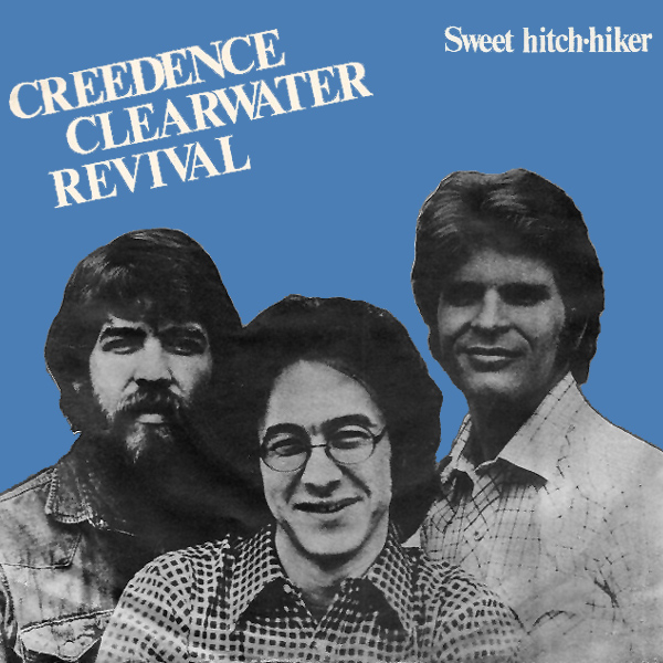 Original Cover Artwork of Ccr Sweet Hitch Hiker