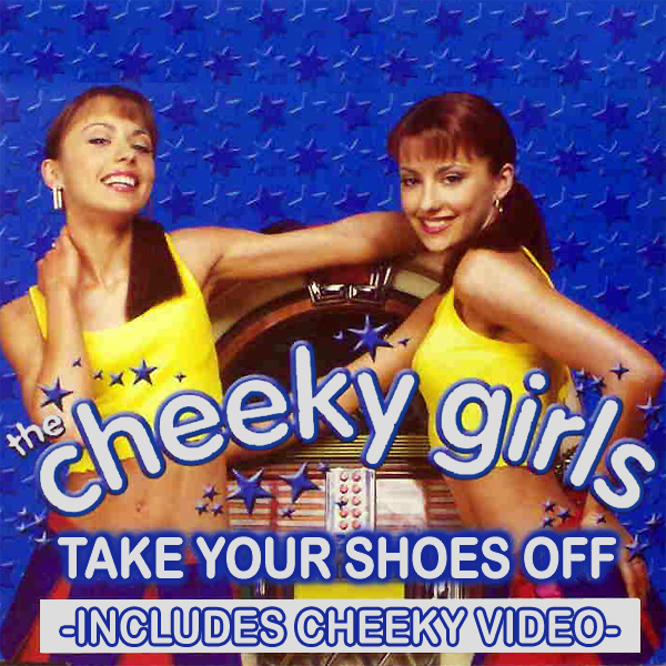 cheeky girls shoes off 1