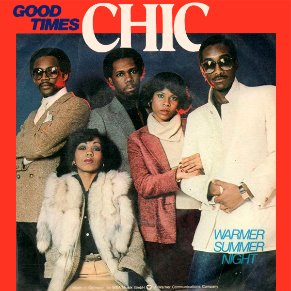 Original Cover Artwork of Chic Good Times
