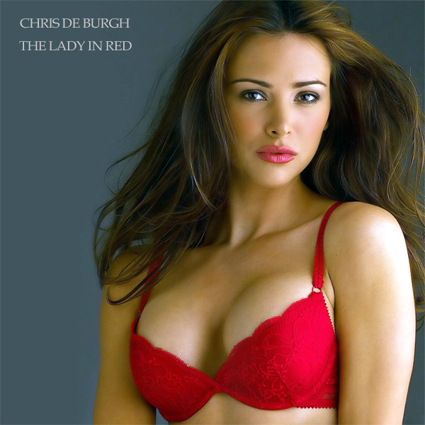 Cover Artwork Remix of Chris De Burgh Lady In Red