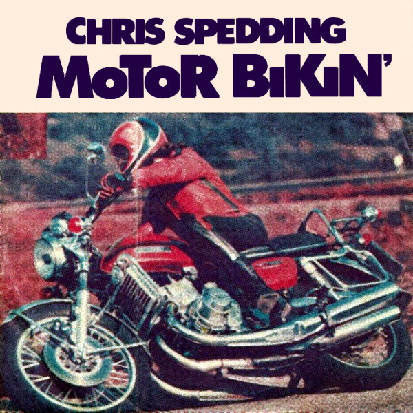 Original Cover Artwork of Chris Spedding Motor Bikin