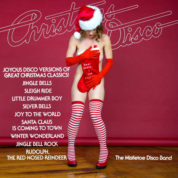 christmas disco mistletoe band remix