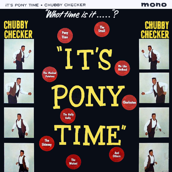 Original Cover Artwork of Chubby Checker Pony Time