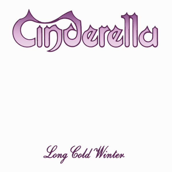 Original Cover Artwork of Cinderella Long Cold Winter