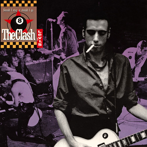 Original Cover Artwork of Clash Should I Stay Or Go