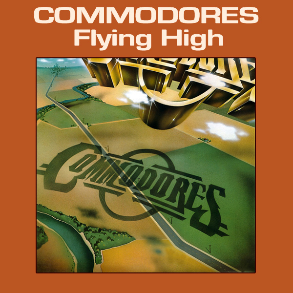 Original Cover Artwork of Commodores Flying High