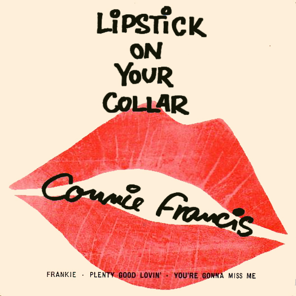 Original Cover Artwork of Connie Francis Lipstick
