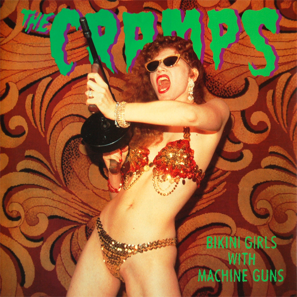 Original Cover Artwork of Cramps Bikini With Guns