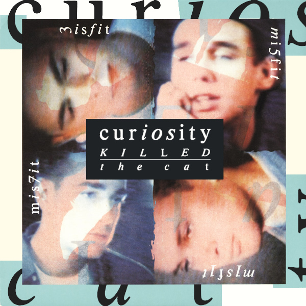Original Cover Artwork of Curiosity Killed The Cat Misfit