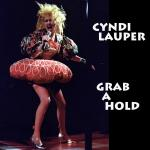 Original Cover Artwork of Cyndi Lauper Grab A Hold