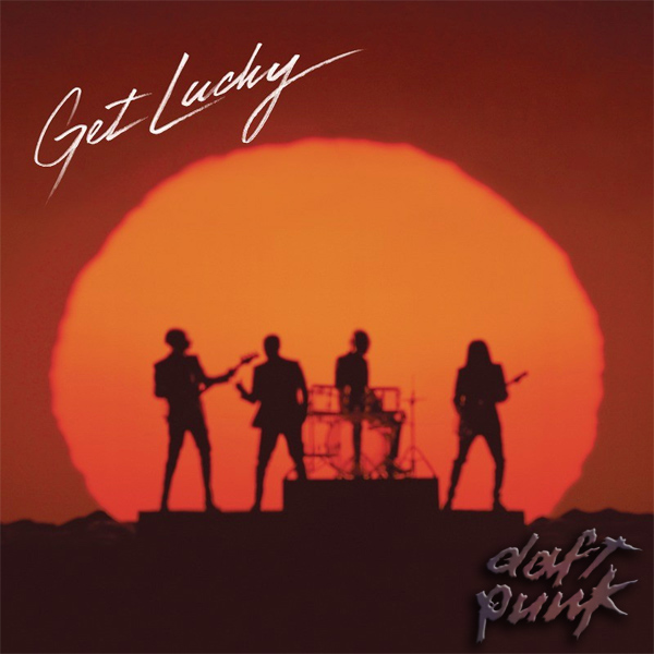 Original Cover Artwork of Daft Punk Get Lucky