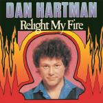 Original Cover Artwork of Dan Hartman Relight My Fire