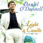 Original Cover Artwork of Daniel O Donnell Light A Candle
