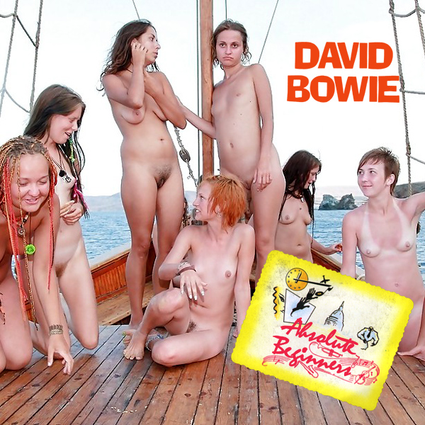 Cover Artwork Remix of David Bowie Absolute Beginners