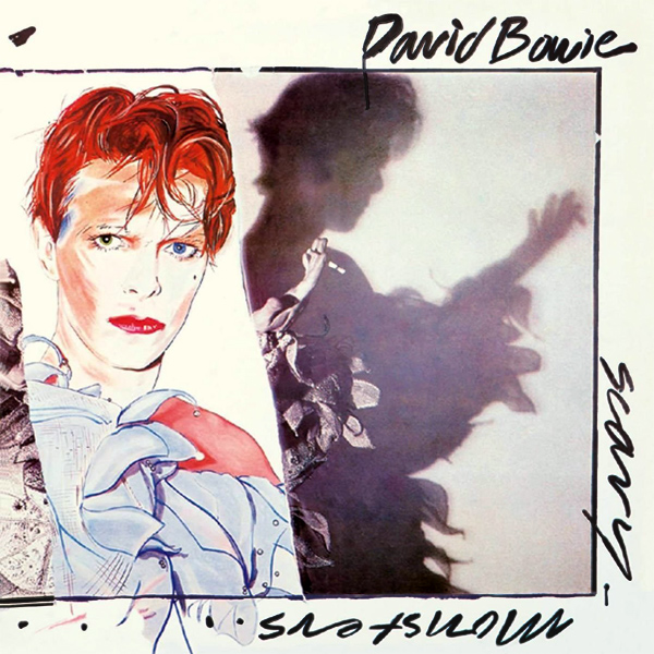 Original Cover Artwork of David Bowie Scary Monsters