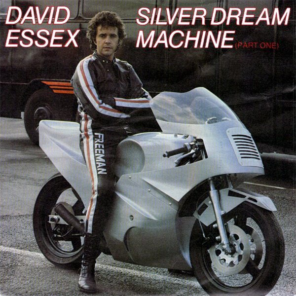 Original Cover Artwork of David Essex Silver Dream Machine