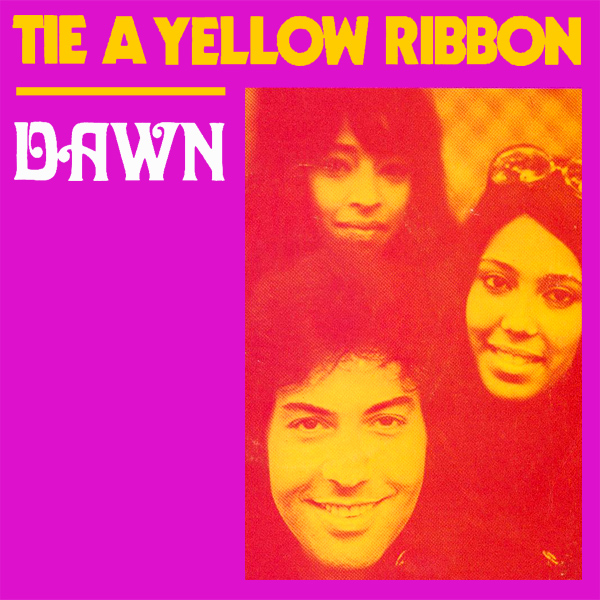 Original Cover Artwork of Dawn Tie A Yellow Ribbon