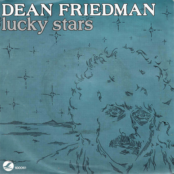 Original Cover Artwork of Dean Friedman Lucky Stars