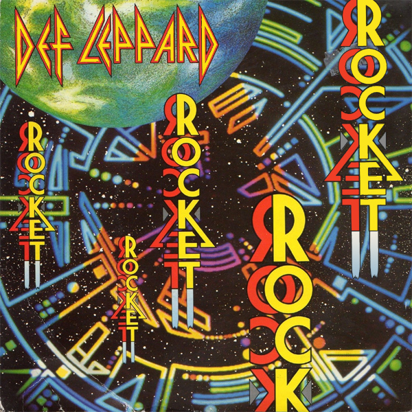 Original Cover Artwork of Def Leppard Rocket