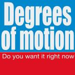 Original Cover Artwork of Degrees Motion Do You Want It Right Now