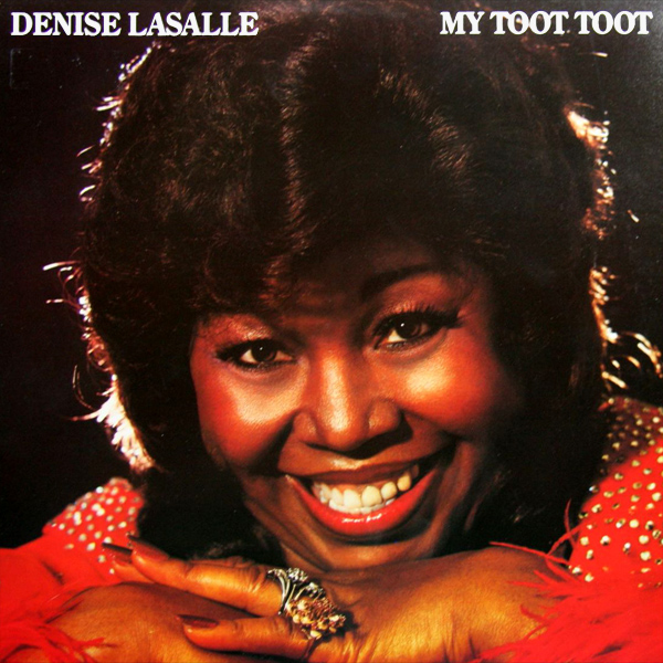 Original Cover Artwork of Denise Lasalle My Toot Toot