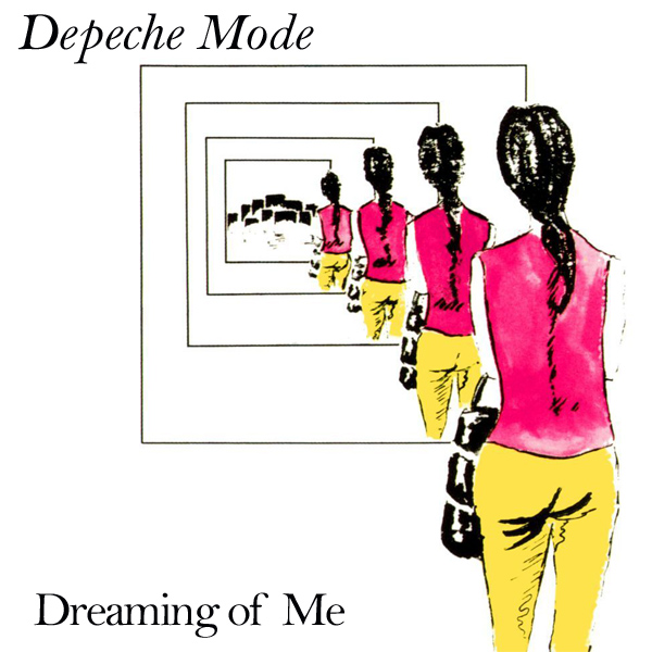 Original Cover Artwork of Depeche Mode Dreaming Of Me