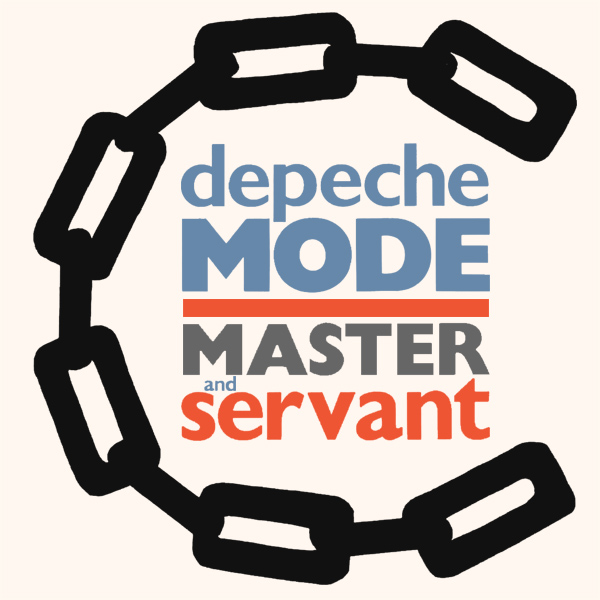 Original Cover Artwork of Depeche Mode Master And Servant