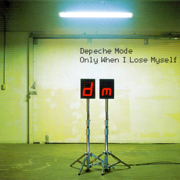 Original Cover Artwork of Depeche Mode Only When I Lose Myself