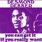Original Cover Artwork of Desmond Dekker You Can Get It If You Really Want