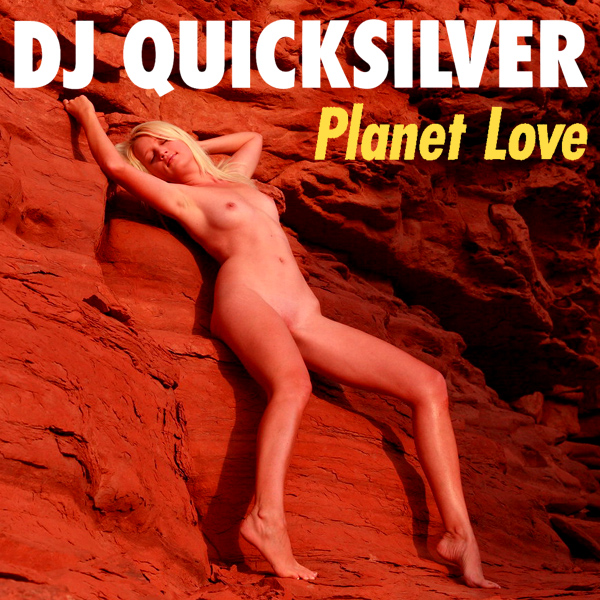 Cover Artwork Remix of Dj Quicksilver Planet Love