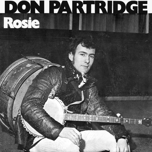 Original Cover Artwork of Don Partridge Rosie