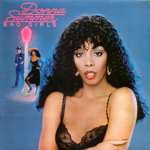 Original Cover Artwork of Donna Summer Bad Girls