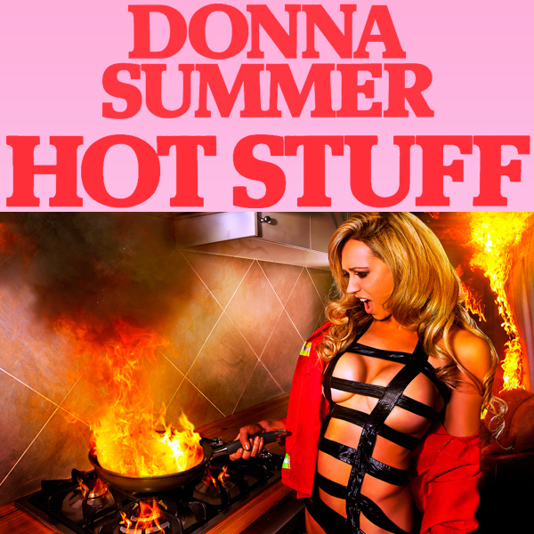 Cover Artwork Remix of Donna Summer Hot Stuff