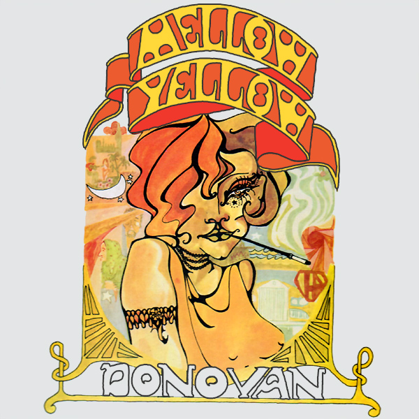 Original Cover Artwork of Donovan Mellow Yellow