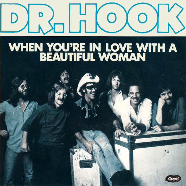 Original Cover Artwork of Dr Hook Beautiful Woman