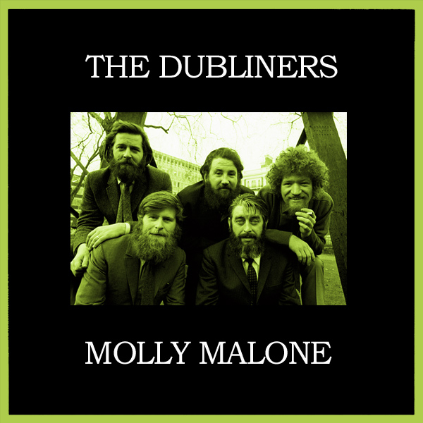 Original Cover Artwork of Dubliners Molly Malone