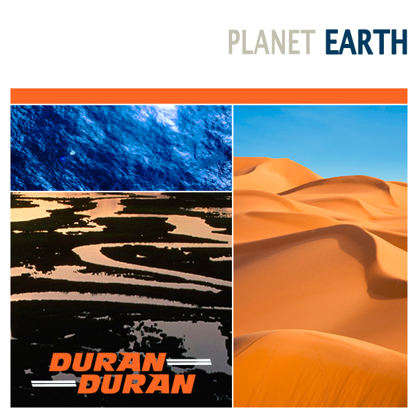 Original Cover Artwork of Duran Duran Planet Earth