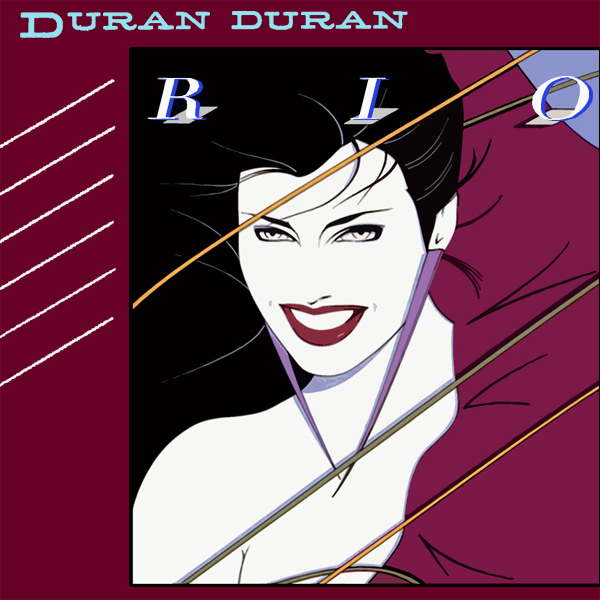 Original Cover Artwork of Duran Duran Rio