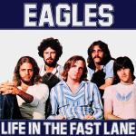 Original Cover Artwork of Eagles Life In The Fast Lane