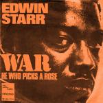 Original Cover Artwork of Edwin Starr War