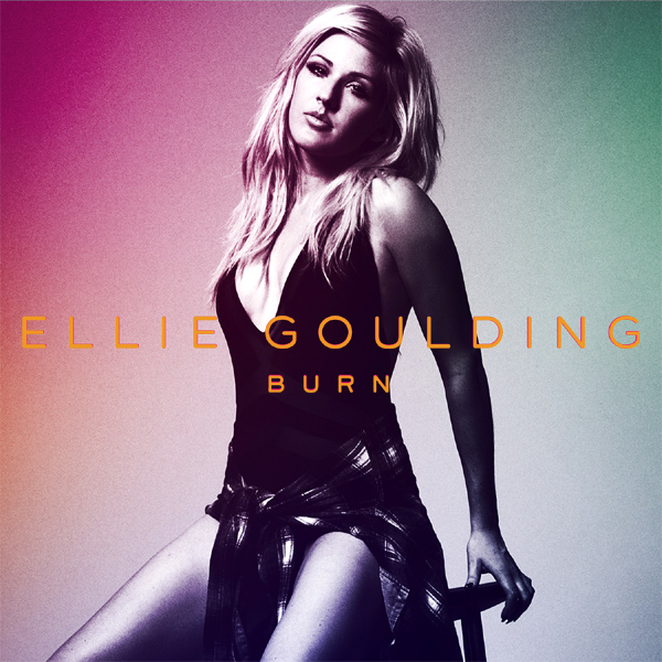 Original Cover Artwork of Ellie Goulding Burn